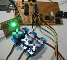 Serial Addressable RGB PWM LED Driver using PIC16F628A