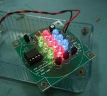 RGB LED PWM Driver Standalone PWM controller for  RGB LEDs using PIC12F629