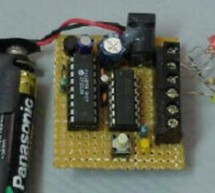 Miniature Real-Time Controller using PIC16F84