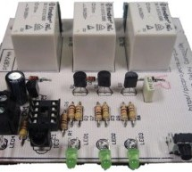 3-Channel IR Relay Controller with user programmable IR commands for PIC12F629