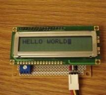 Serial LCD Module using PIC16F88