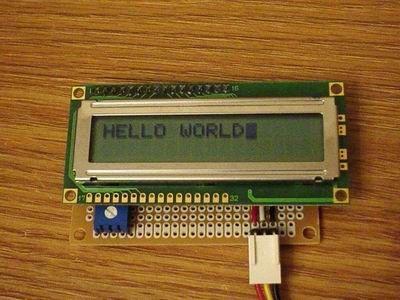 Serial LCD