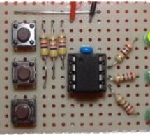 Radio Button Switch Control using PIC12F629