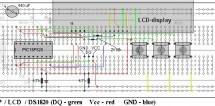 DS1820 Temperature regulator using PIC16F628