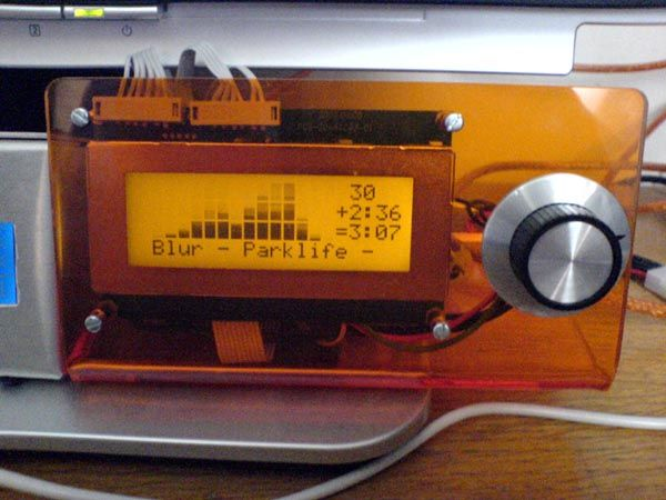 USB LCD controller
