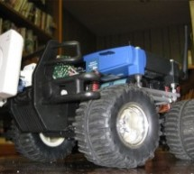 Wifi robot vehicle controlled by PIC16F628A