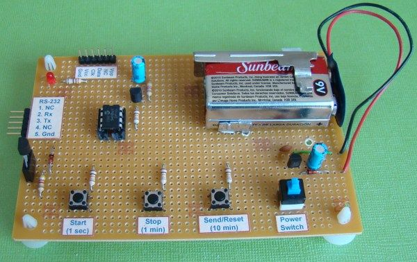 A Beginner\'s data logger project using PIC12F683 microcontroller