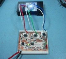 How to drive an rgb led using PIC16F877A