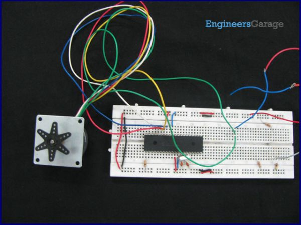 interface Stepper Motor