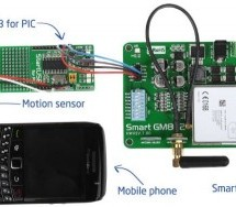 Make your own motion sensor alarm with SMS feature using PIC18F2550