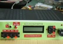 A new multi-function power supply unit for my Embedded Lab using PIC16F689