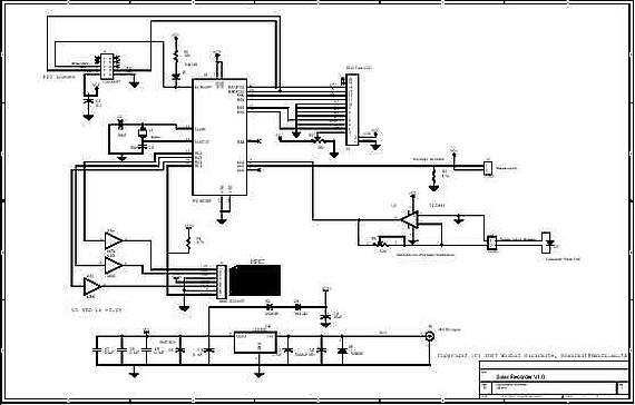 schematic Solar Recorder