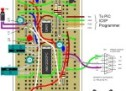 PIC12F675 Tutorial 7: A Servo controller driving a standard servo motor using serial port command