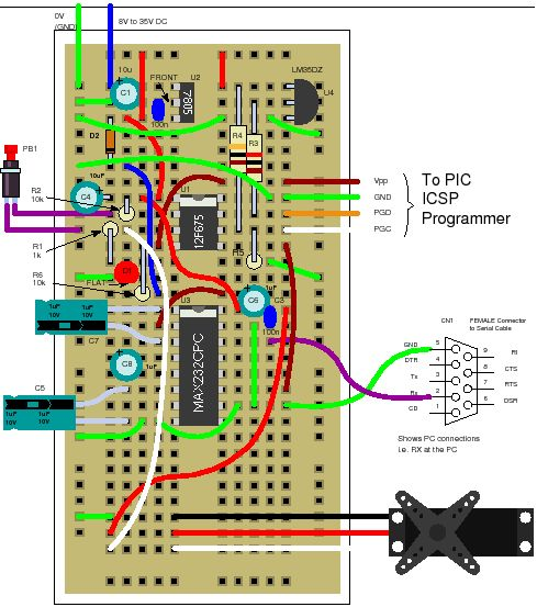 Pic12f675 Tutorial 6 Driving A Standard Servo Motor With