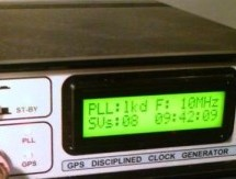 GPS-based universal clock generator using PIC16F628