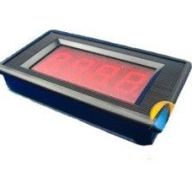 0-5V LCD volt meter using PIC16F877A