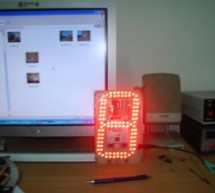 Counting on the 7-segment display