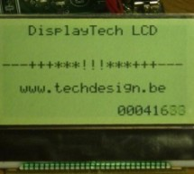 Low cost LCD module interface with optional LED backlight using PIC18F452