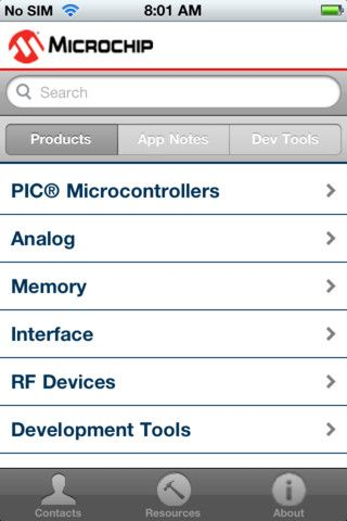 Mobile Product Selector Apple