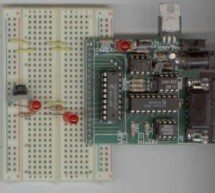 PICMicro Project using PIC16F84 Microcontroller
