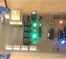 Rs 232 Relay Control Board using PIC16F84A