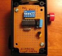 Shrieker using PIC16F676 Microcontroller