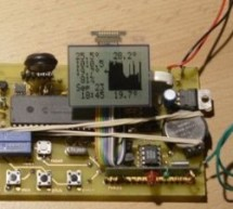 Weather station using PIC18F452 Microcontroller