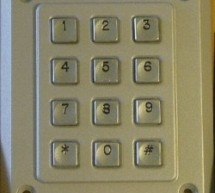 Dual programmable keypad code lock using PIC18F452