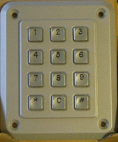keypad code lock
