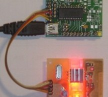 TD-USB-01 interface with mouse sensor board using PIC18F2550