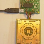 touchpad sensor board