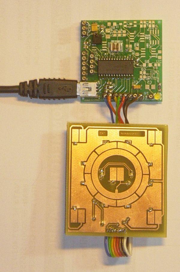 touchpad sensor board