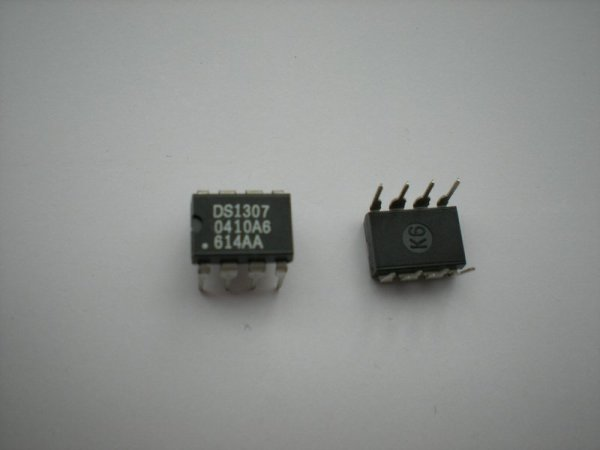 Interfacing of PIC16F84A with DS1307