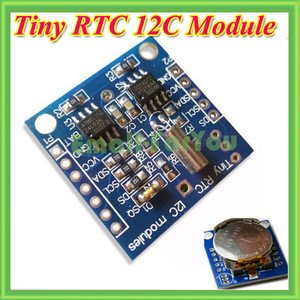 Interfacing of PIC16F877 with DS1307 (RTC)