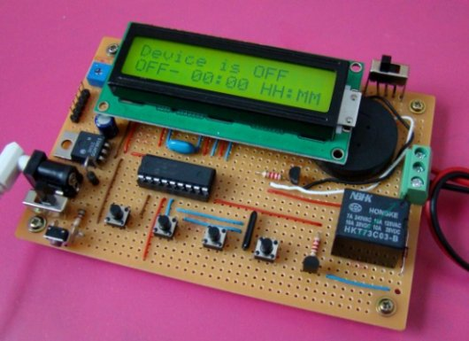 Pic Microcontroller Timer Video Project