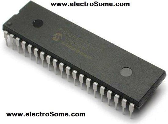 PIC12F675 internal EEPROM