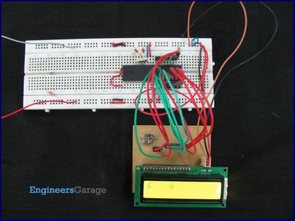 PIC16F84A LCD interfacing 4bit mode