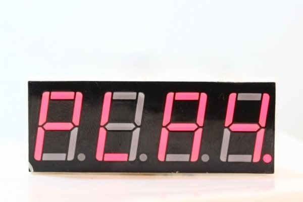 PIC16F84A using seven segment display