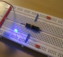 PIC18F452 LED Blinking Code and Proteus Simulation