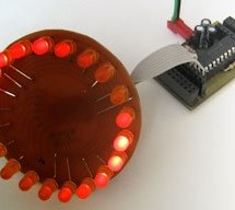 LEDactus using PIC18F1320 Microcontroller