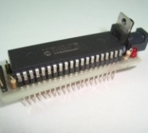 Mini PIC Dev Board using PIC18F452