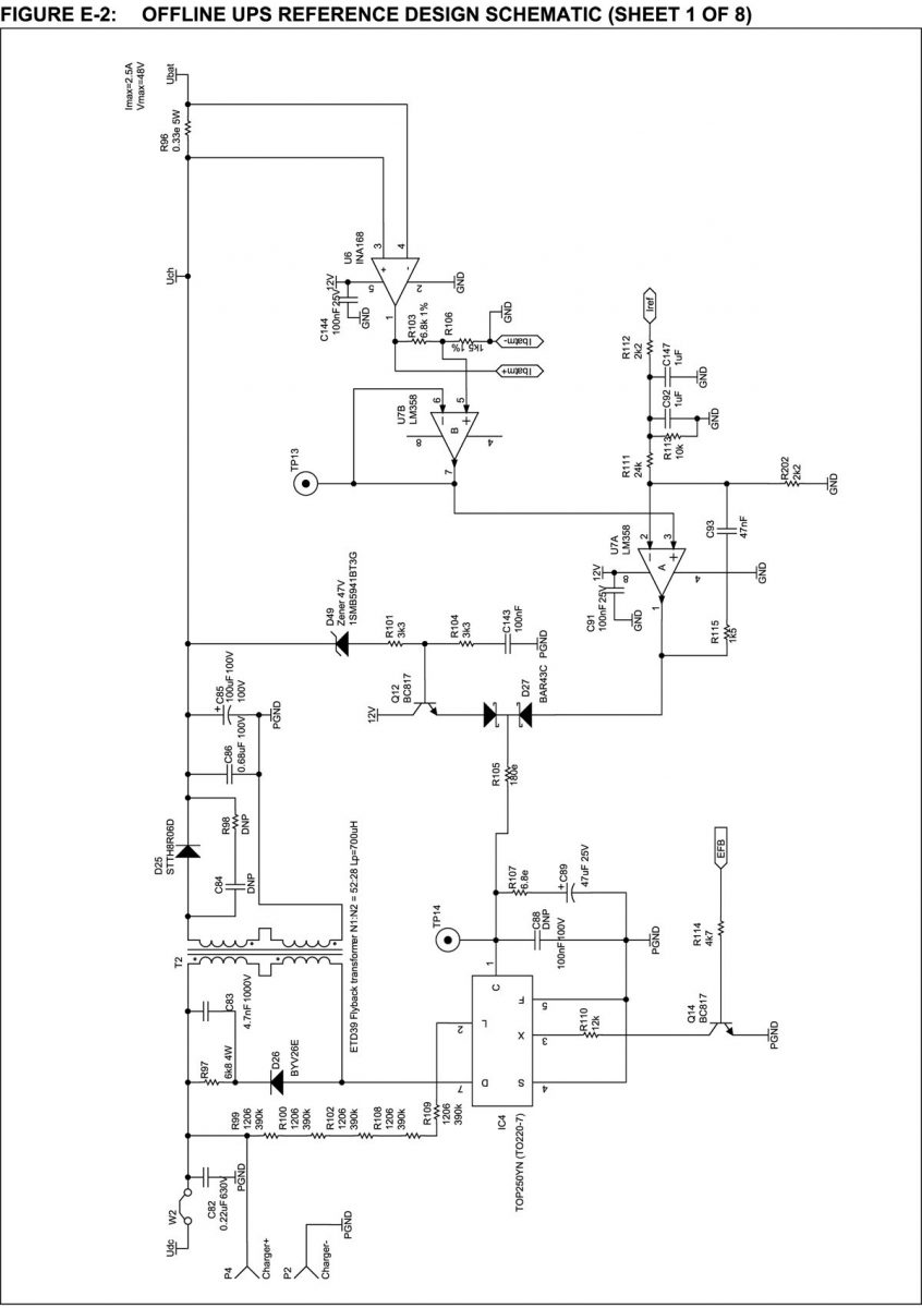 Ups complete pic based with schematic firmware