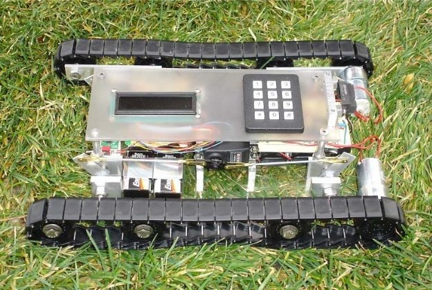 PIC16F876A Based Robot