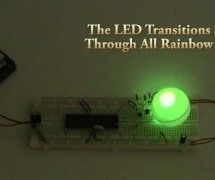 RGB LED Controller using PIC18F452