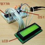 Simple Clock using DS1307 and PIC16F877A
