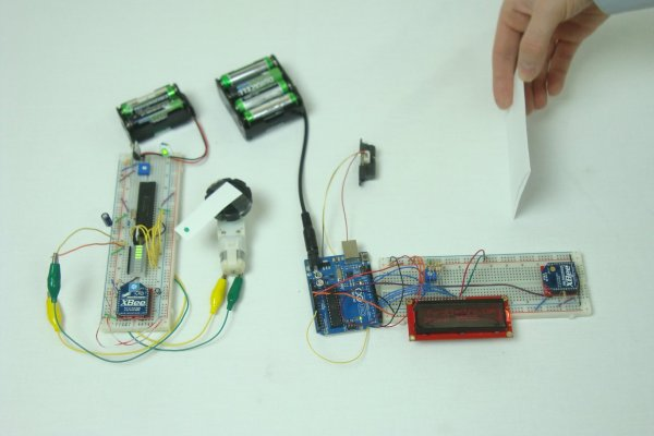 Wireless Sensor Motor Control