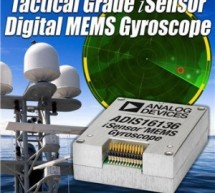 ADI moves MEMS gyro sensor to tactical grade
