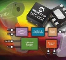 Microchip adds calibrator to low drift amplifier