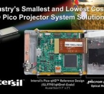Intersil claims to have smallest pico-projector