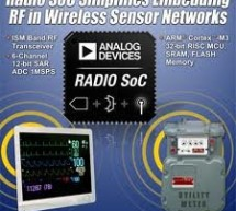 Low power radio standard simplifies sensor networks